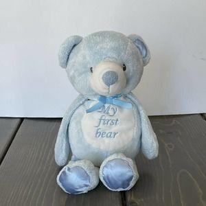 "Kellytoy My First Bear Blue Teddy Bear Plush 10"""